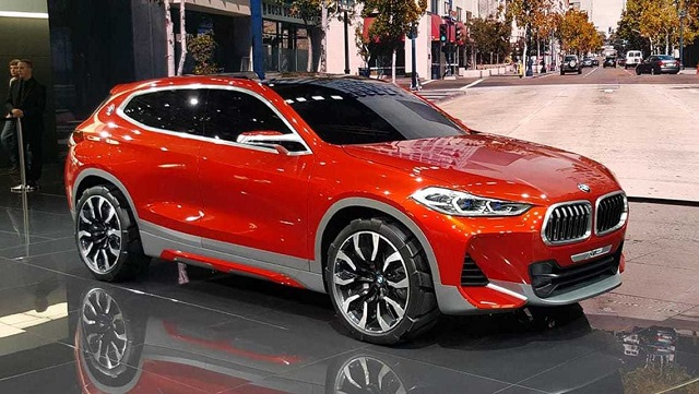2019 BMW X2 front