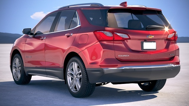 2019 Chevrolet Equinox rear end
