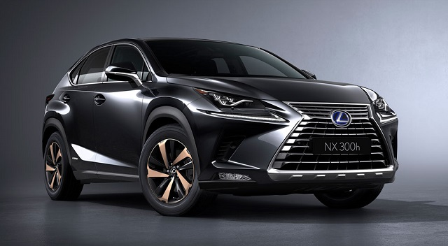 2019 Lexus Nx F Sport And 300h