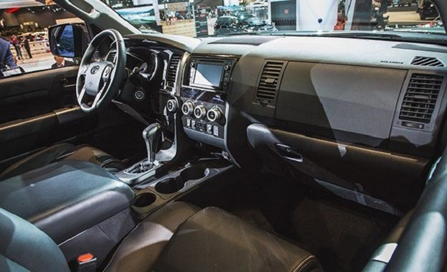2019 Toyota Sequoia Trd Sport Price Interior Suv Project