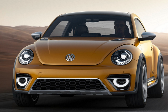 2019 Vw Beetle Suv Hybrid And Allroad Front