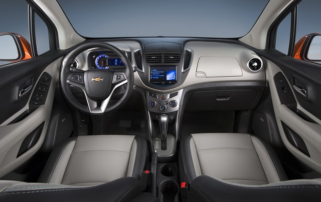 2019 Chevy Trax cabin