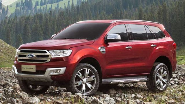2019 Ford Everest Interior Titanium Colors Suv Project
