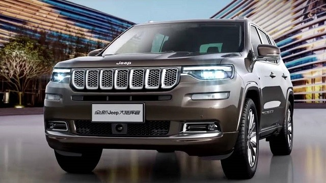 2020 Jeep Wagoneer front
