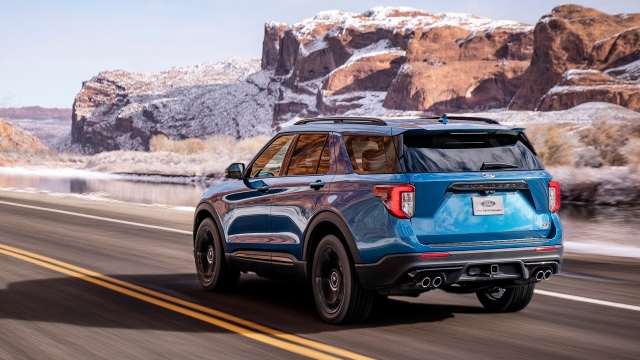 2020 Ford Explorer ST rear