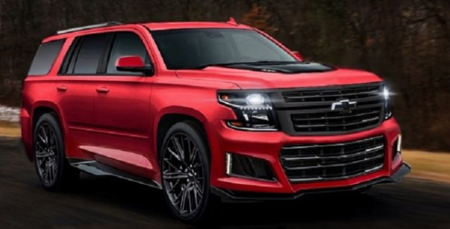 2021 Chevy Tahoe Rumors, News, Spy Photos, Rendering Image - SUV Project