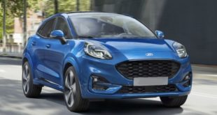 2020 Ford Puma front