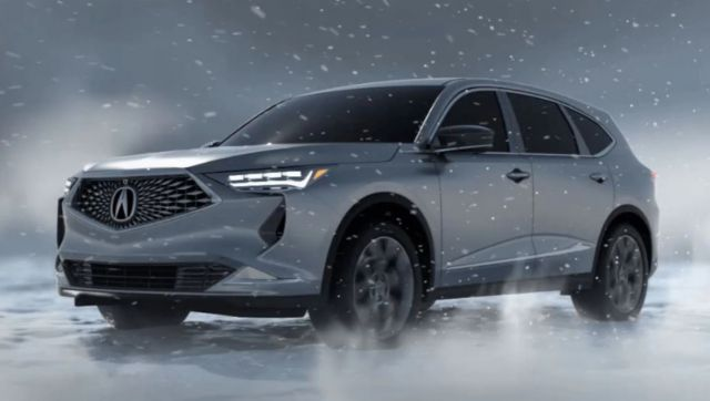 2021 acura mdx new leaked photos  suv project