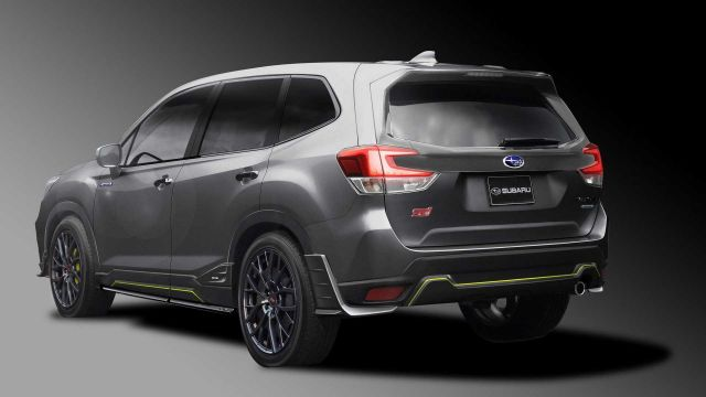 2021 Subaru Forester STI rear