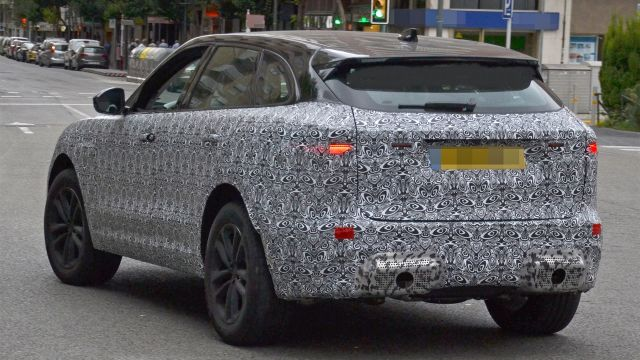 2021 jaguar f-pace spied testing  first look
