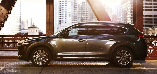 2021 Mazda CX-7 side look