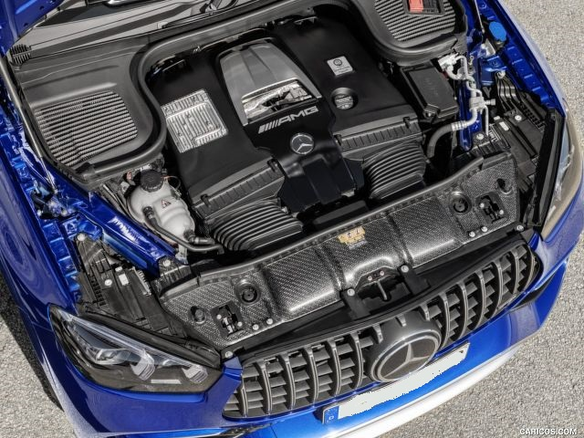 2021 Mercedes-AMG GLE 63 S engine
