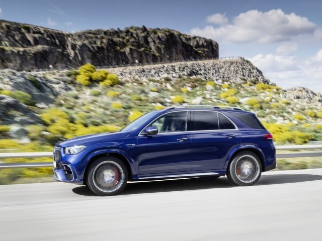 2021 Mercedes-AMG GLE 63 S side