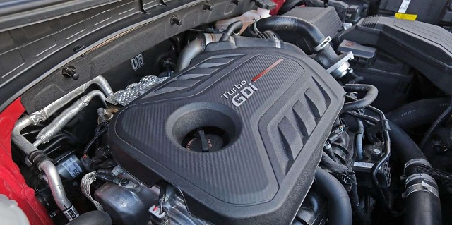 2021 Kia Sportage engine
